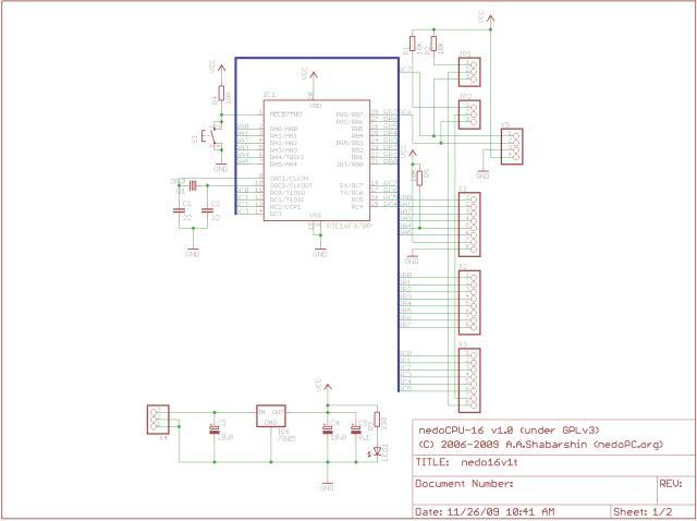 Ниже предоставлены схемы и разводка ноябрьского варианта платы Rev.B. P.S. На базе той же... на основе PIC16F780) в...