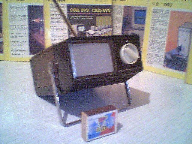 """Собственно  """"Электроника Ф1-01 """" и  """"Электроника ВЛ-100 """" стали началом моей коллекции миниатюрных отечественных..."""